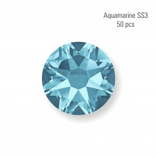 Crystal SS3 Aquamarine