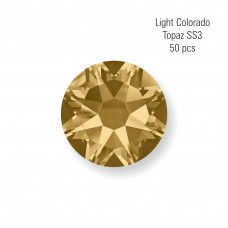 Crystal SS3 Light Colorado Topaz