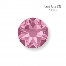 Crystal SS3 Light Rose