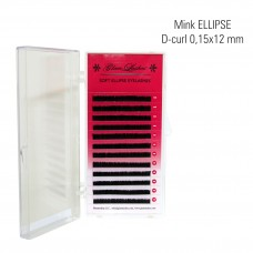 Naarits ELLIPSE 0,15 x 12 mm, D-Curl