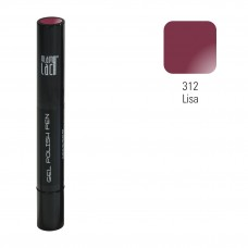 #312 Lisa 3 in 1 püsilakk 4 ml