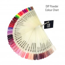Dip Powder Coulour Chart