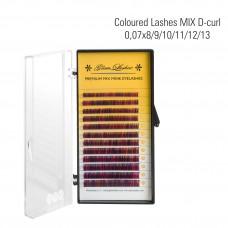 Kokteil ripsmed MIX D- Curl 0,07 x 8/9/10/11/12/13 mm