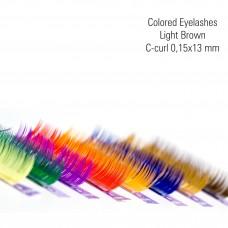 Värvilised-h.pruun 0,15x13, C-Curl