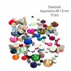 Swarovski aquamarina AB 1,9 mm
