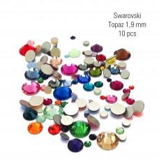 Swarovski topaz 1,9 mm